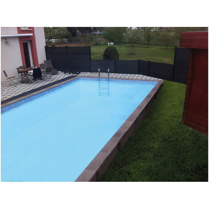 Piscine b ton rectangulaire haute naturalis 3 7 50x3 for Piscine rectangulaire