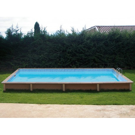 Piscine b ton rectangulaire haute naturalis 2 6 09x3 for Piscine beton banche