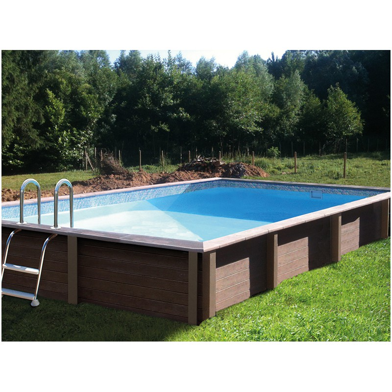 Piscine b ton rectangulaire haute naturalis 2 6 09x3 for Piscine de la riche