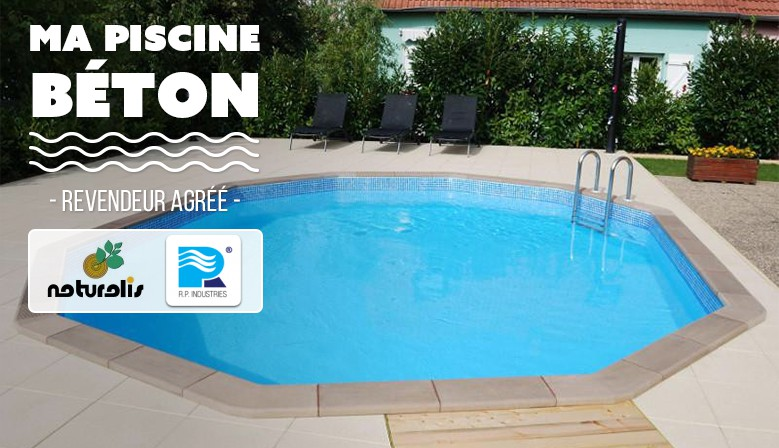 Ma piscine b ton piscines enterr es ou semi enterr es en for Kit piscine beton