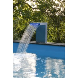 Lame d'eau Straight LED pour piscines - Ubbink